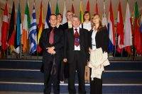 Delegacja z posłem Mieczysławem Janowskim